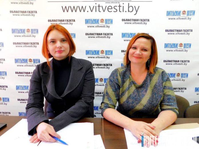 Наталья Царенко и Вера Шлома